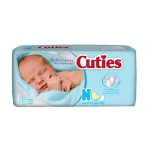Cuties Wipes Soft Pack Scented Or Unscented