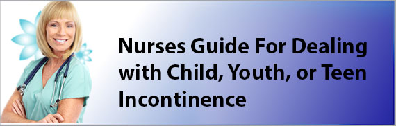 youth, child and teen incontinence blog post poster image