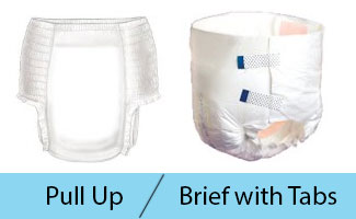 image to compare briefs with tabs with pull ups