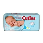 Cuties Wipes - Soft Pack   Scented or Unscented